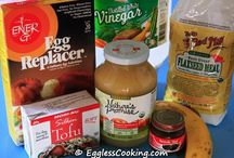 Egg free recipess