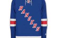 New York Rangers - Official NHL Hockey Jerseys / We are the leading manufacturer of professional sports lettering & numbering and we have been selling officially licensed NHL jerseys and apparel via the internet since 1999. Visit: CoolHockey.com for more!