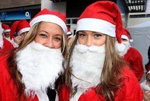 Santas on the Run St Austell 2014