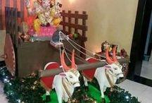 ganpati decoration