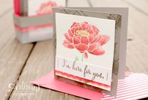 2015/16 Stampin' Up! / Lovely creations made with Stampin Up products from annual Catalogue