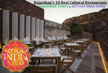 Rajasthan's 10 Best Cultural Restaurants | Jaipur, Jodhpur and Beyond / Read blog on Rajasthan's 10 Best Cultural Restaurants | Jaipur, Jodhpur and Beyond  http://letsgoindiatours.blogspot.in/2016/03/rajasthans-10-best-cultural-restaurants.html