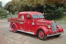Fire , trucks & buses / by Barry Yochmowitz