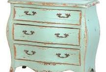 Interesting painted furniture / Interesting French, Continental & English antique and vintage furniture