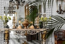Design & Decor-Home Interior / Design and decor Ideas for home or business; interior & exterior. From room layouts to furniture arrangements; color schemes, all type of furniture, vintage or new.  / by Tess Sandoval