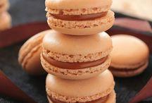 macarons caramel