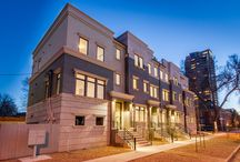 City Park Townhomes / Contemporary townhomes