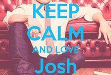 <3 Keep Calm: Josh Hutcherson <3 / Este tablero lo he creado para tener todos los Keep calms de Josh Hutcherson :)