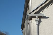 Conductor Boxes / Adding flair to  your gutters makes the difference between normal and extraordinaire.