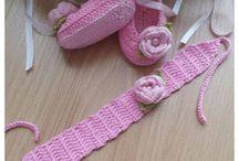 Sapatilhas / Pink Crochê