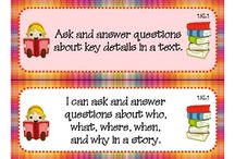 Common Core for first grade / by Claudia Abdine