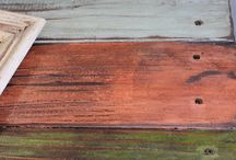 2x4's / pallet ideas /wooden signs / by Paula Marshall Noak