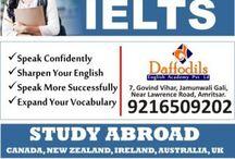 IELTS Coaching In Amritsar / IELTS Coaching in Amritsar ,IELTS Institute in Amritsar ,Best IELTS Coaching in Amritsar,ielts training in Amritsar,ilets coaching center in Ludhiana,No.1ielts institute in Amritsar. Contact: Daffodils English Academy,7, Govind Vihar, Jamunwali Gali, Near Lawrence Road, Amritsar. +91-92165-09202