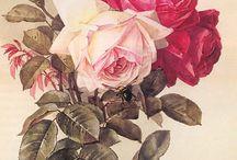 Watercolors - Early California Paintings / Original Watercolors by Early California Artists from 1870 to 1940
