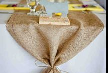 Burlap creations / by Jennifer Woodall