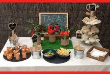 Fiesta en Orden / Ideas para decorar las mesas cuando haces una fiesta o bien comidas familiares o entre amigos