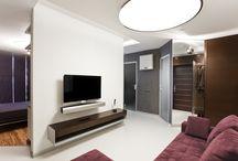 46m² studio apartment / Реализованный проект / Фото