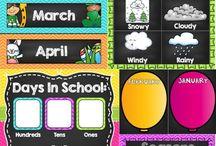 Classroom organisation / decoration