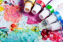 Acrylmalerei / Alles zum Thema Acrylmalerei stellen wir hier für Euch zusammen. Produktvorstellungen und Anregungen ebenso wie Muster, Tipps und Tricks!