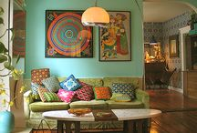 Boho decorating ideas / Here's a few cool ideas for you Bohemian house