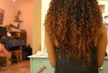 Haircolor Curly Hair Natural Curls
