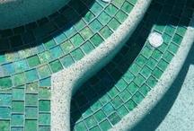 Cost effective pool tiles