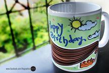 Mug design By prartinc / Illustrated mug designs