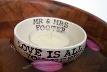 Floating Candle Holder, Custom Wedding Gifts and Wedding Decorations