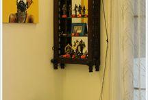 Pooja shelf
