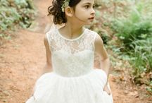 our flowergirl dresses