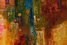 абстракция живопись