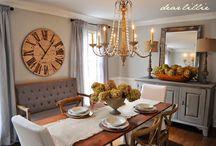 dining room decor / by Claudia Iosif
