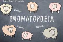 Teaching - ELA: Onomatopoeia / by Shelee Brim