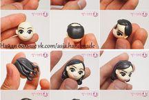 figurines diy