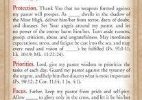 Prayer for your Pastor