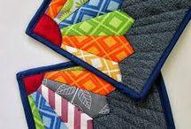 Patchwork placemats / Placemats, patchwork, quilt