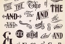 Hand lettering  / by Erin Trimble