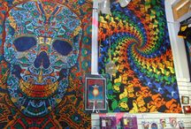 Retrolusion in Stewart Florida / Fabulous retro goodies: 3D Tapestries, Funky Tie Dye and more
