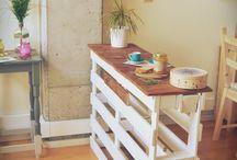 #Palets / Bonitos y originales usos de palets para la casa