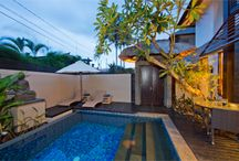 Villa Canthy 1 & 2 Bedroom Villas in  Seminyak / Bali luxury private Villa Canthy is juat a perfect holiday retreat. The Villa sits within the last remaining rice terraces of Seminyak affording the holidaymaker a spectacular assortment of rich hues as the season progresses. Whilst this Villa is in a peaceful location it is still within easy reach of the fashionable areas of Seminyak and just 400Mtrs of one of Bali's best beaches.