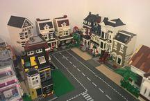 LEGO City - Godwins Hollow of Outer Godwinia / LEGO modular buildings #GodwinsHollow