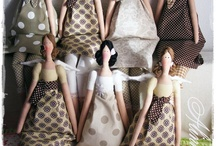 TILDA & FRIENDS (WITH PATTERNS) / HANDMADE DOLLS