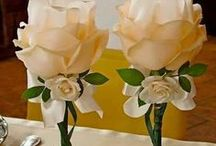 декоративные украшения цветами
