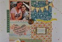 ScRaPbOOkInG-VaLeNtInEs❤ / Scrapbooking layouts for Valentine's Day