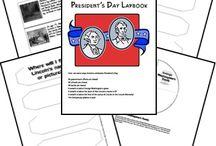 President's Day for Preschool / by Andrea Jardon