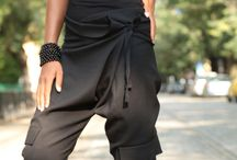 Pants - harem style