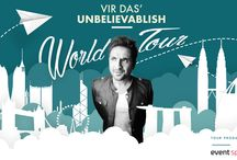 Vir Das - Unbelievablish - World Tour / India's Largest Comedy Tour Goes International.  After completing a successful 15 city tour in India  Vir Das is taking all of his 206 funny bones on a world tour. The globe is going to go giggly!