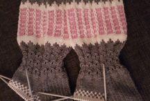 Omat tekeleet / Oma tekemät villasukat