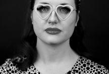 Black and White Photoshoot / Fashion, Photography and Make Up. Black and White Photoshoot