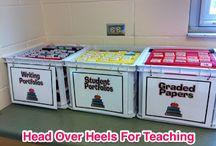 Classroom Organization // Teaching / by Samantha Wilson